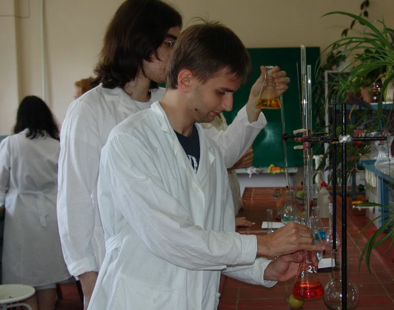 Education process at the Faculty of Chemistry
