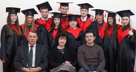 Graduates of the Department of Management and Travel Business
