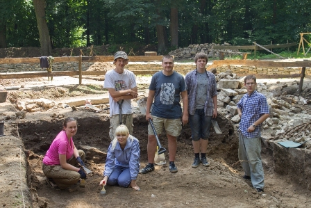 The Second International Ukrainian-Polish archaeoloical expedition