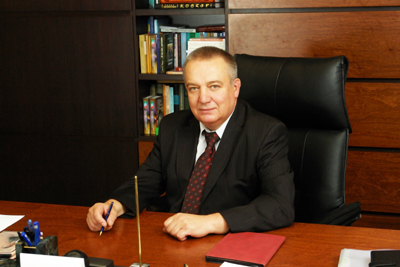 Rector of DNU Mycola Polyakov